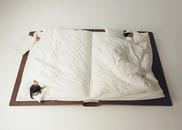 Creative fold up bed for your home