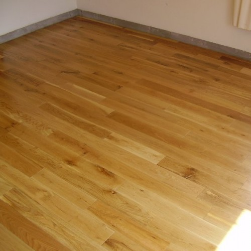 Engineered wood flooring material