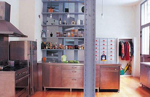 Paris L-shaped kitchen