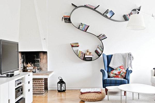 usual book shelf