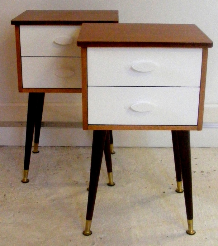 Simply designed bedside table