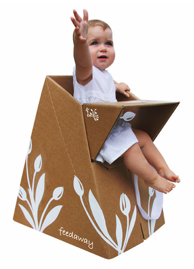 Cardboard baby chair furniture
