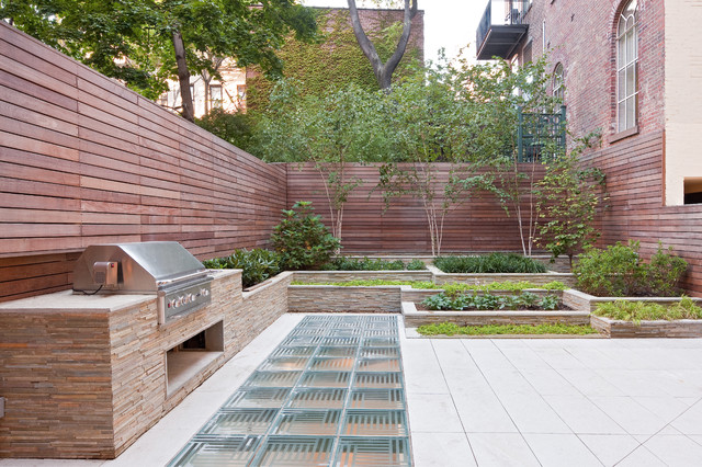 Townhouse backyard design