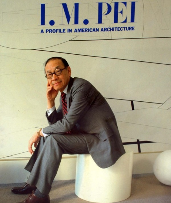Leoh Ming Pei is a modern Chinese architect