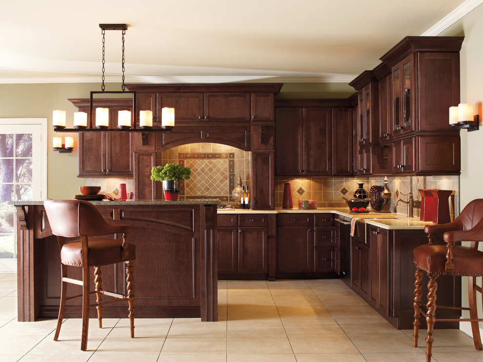 Cherry Oak Cabinets For The Kitchen Ideas
