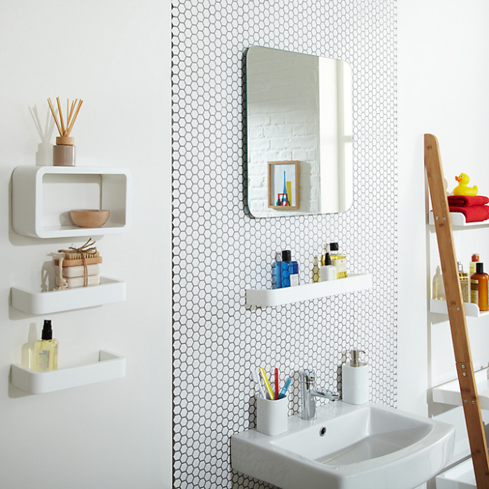 John Lewis Small Bathroom Wash Space Accessories