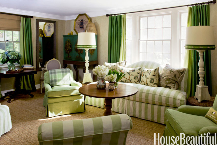 Big ideas for small living room sofas - Green living room ideas decorating ...