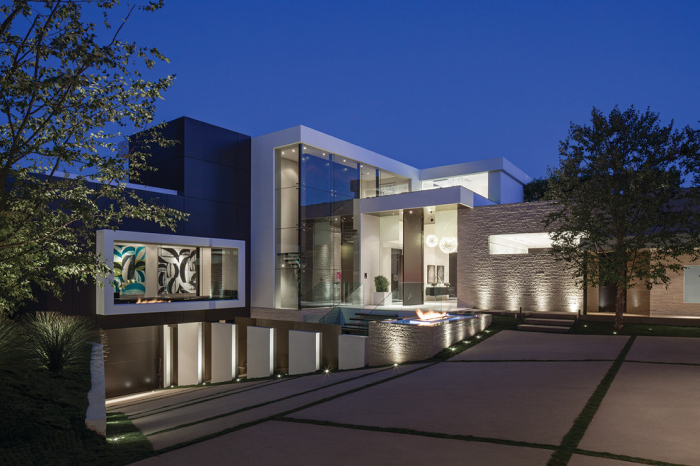 Contemporary house exterior design