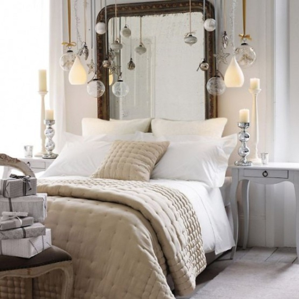 enter the glittery world of silver bedroom ideas