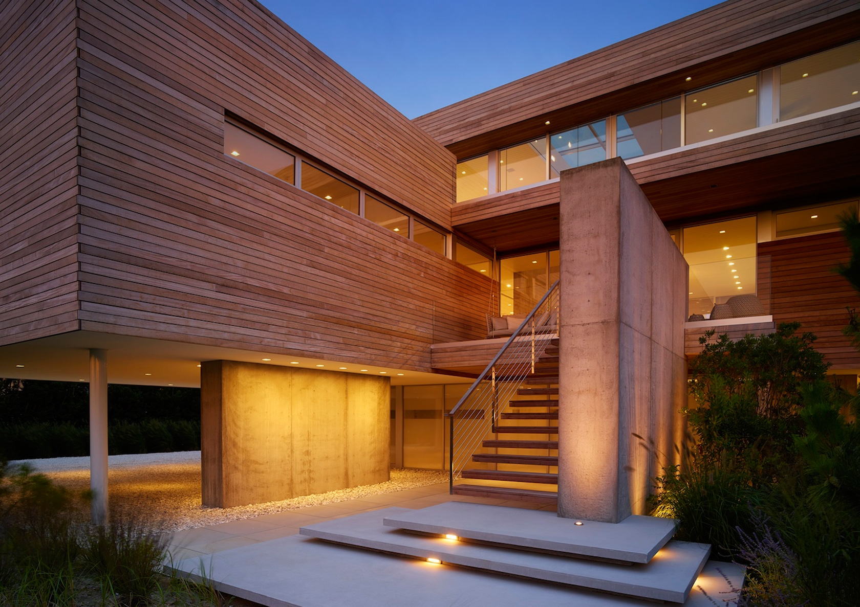 Beautiful Ocean Deck House By Slr Architects