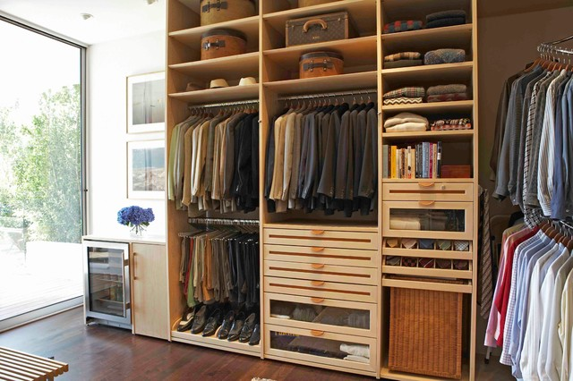 All in one closet