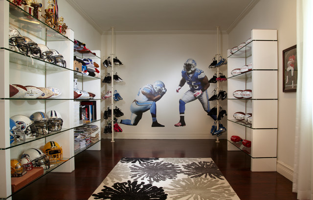 Concept of walk in closet