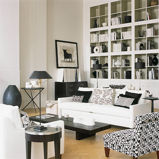Amazing living room ideas black and white colour schemes