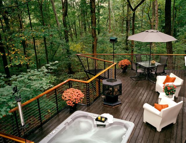Deck setup for the adventurous ones
