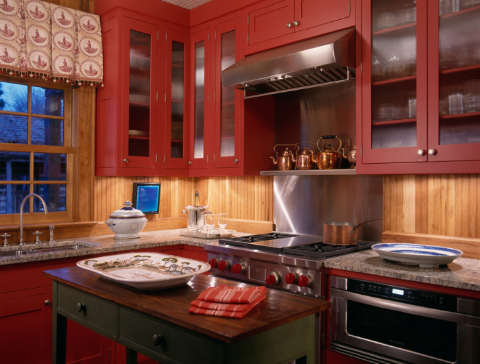 Wonderful kitchen d cor ideas from uk for Kitchen accent colors