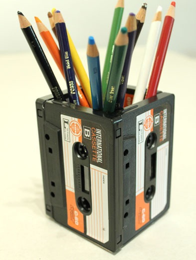 Use old cassette to make a holder