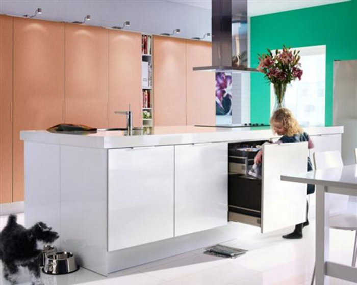 Trendy kitchen and dining decor