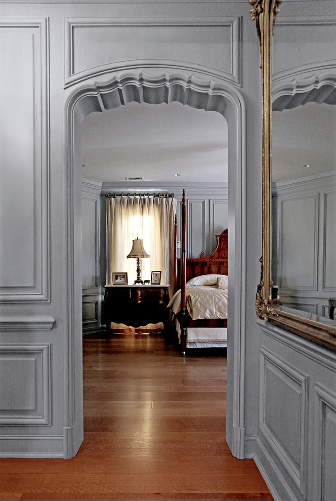 An exemplary work of entrance to the bedroom