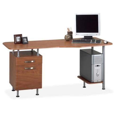 l-shaped computer workstation desk