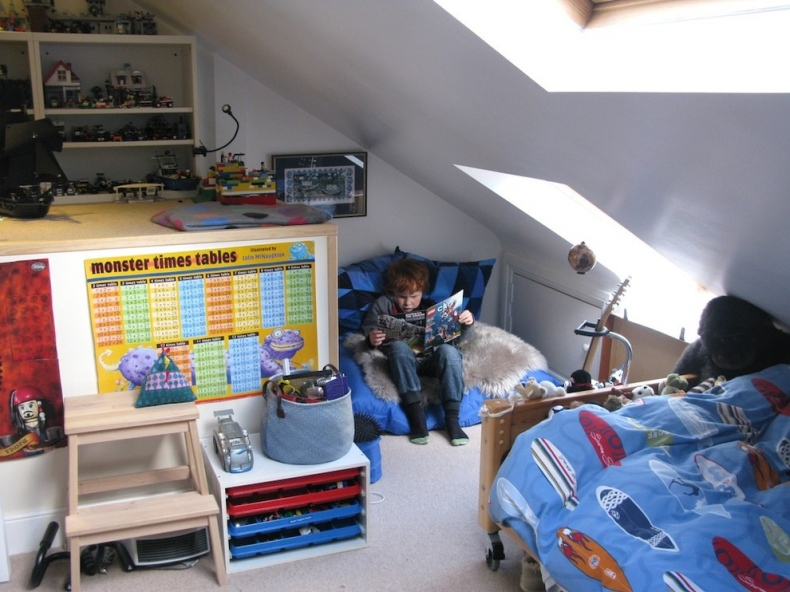 Eclectic kid's bedroom