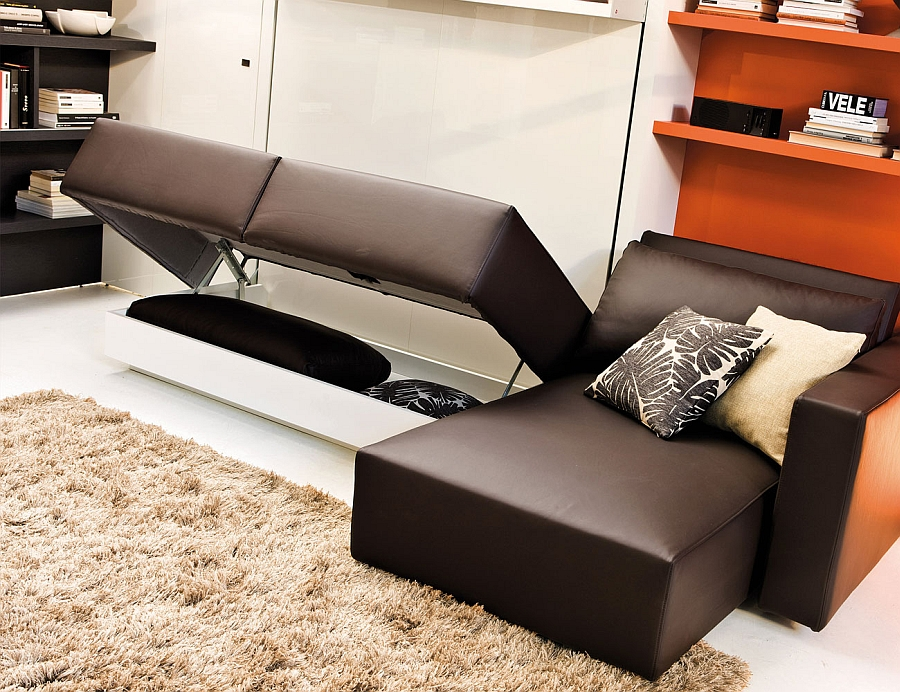 Space Saving Murphy Sofa Bed Designs