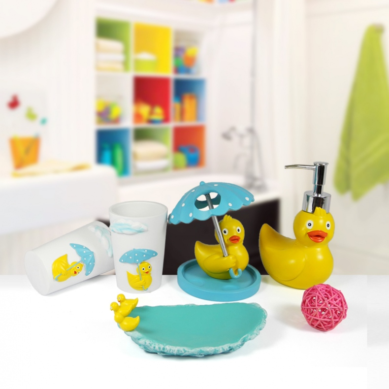 Girl kids bathroom accessories for Kids bathroom accessories