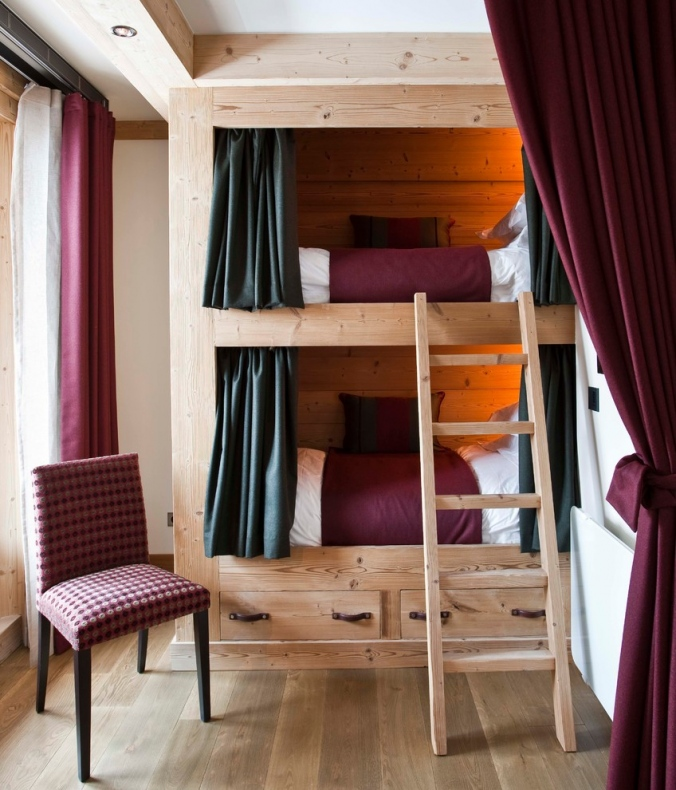 Bunk bed with drawers on the bottom