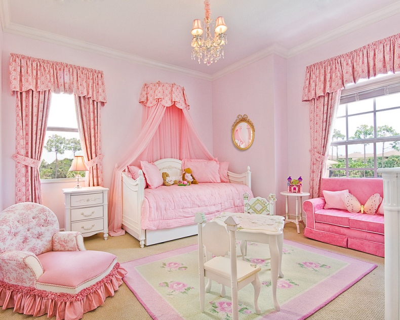 Cinderella view comes to light with baby pink colour