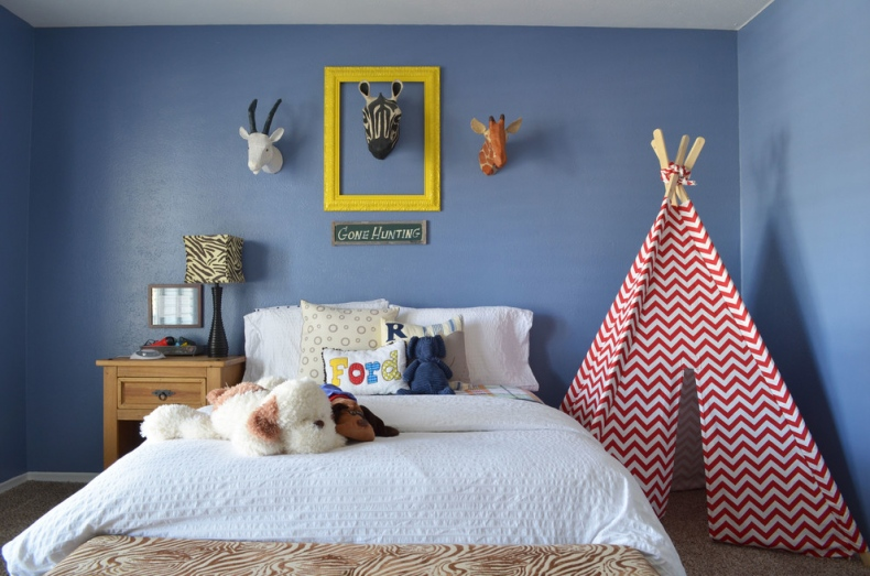 Blue Pastel kids bedroom
