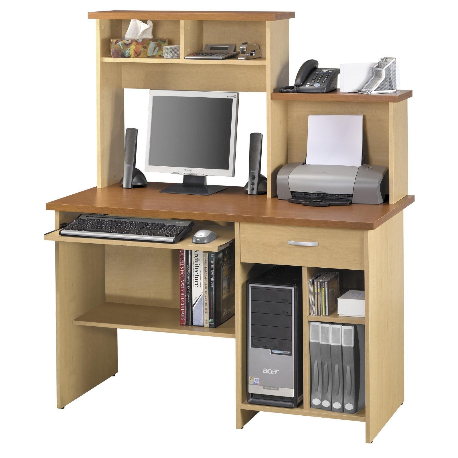Combined work station and computer desk ideas for Best home office computer 2015