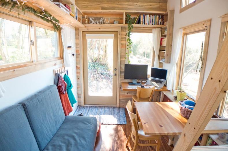 Narrow Space living room