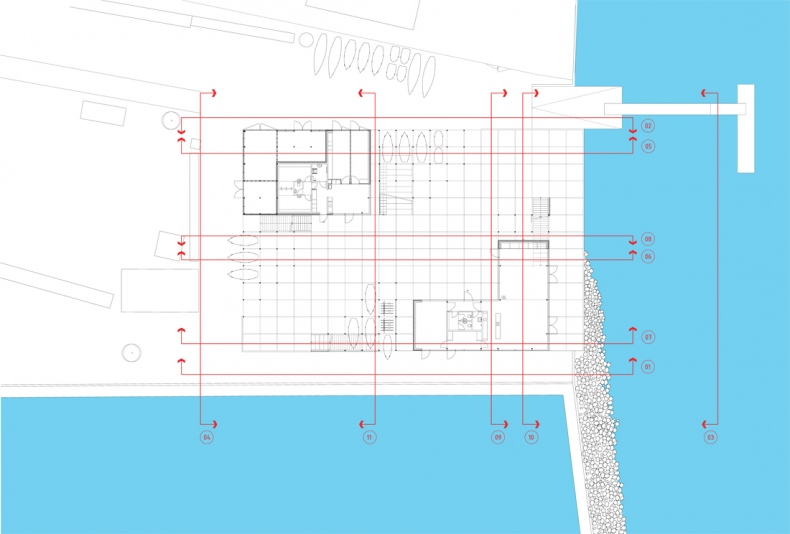 Ground floor plan design