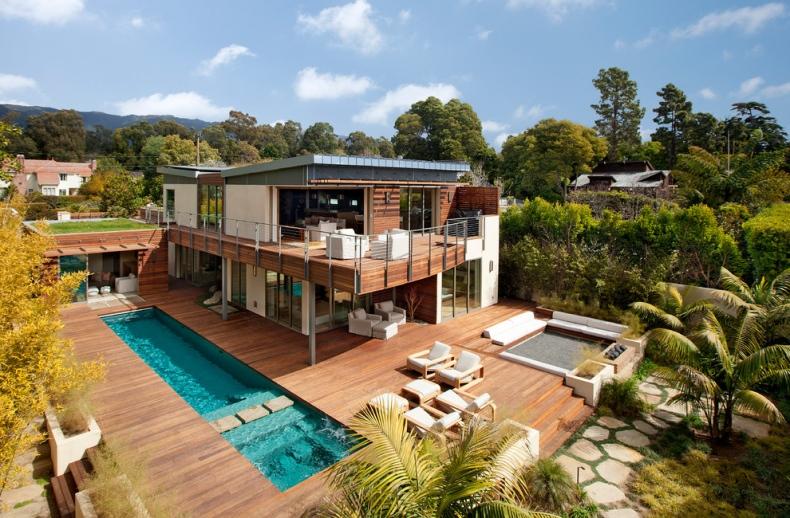 modern house beach style