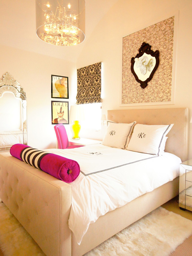 Be inspired by beautiful ideas for teen rooms for Bedroom ideas hanging pictures