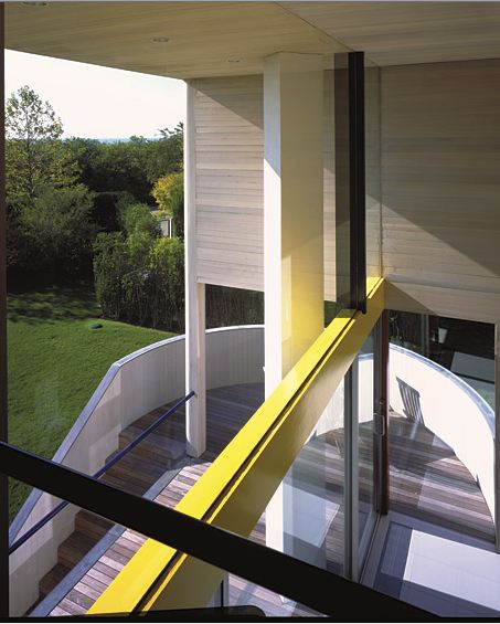 Gwathmey House And Studio By Charles Gwathmey Long Island  : polished staircase from www.faburous.com size 453 x 565 jpeg 53kB