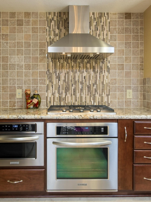 Natural Rustic backsplash