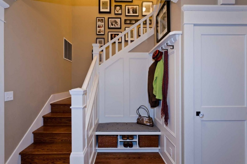 Entrance Under-stairs Space