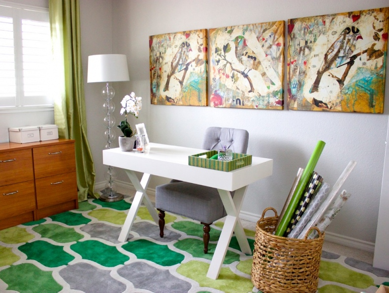 Wider Home Office Space