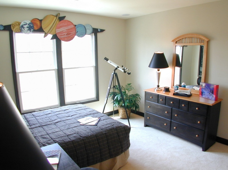 Contemporary kid's bedroom