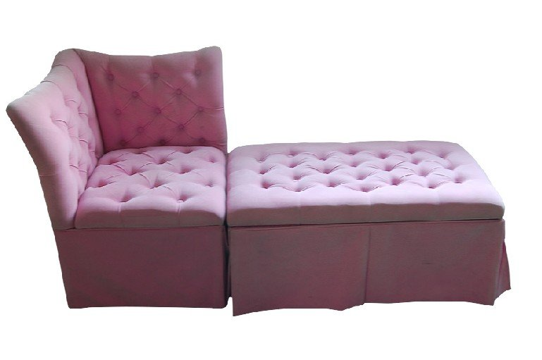 Velvet sofa in two tiers can be used as sleeper sofa