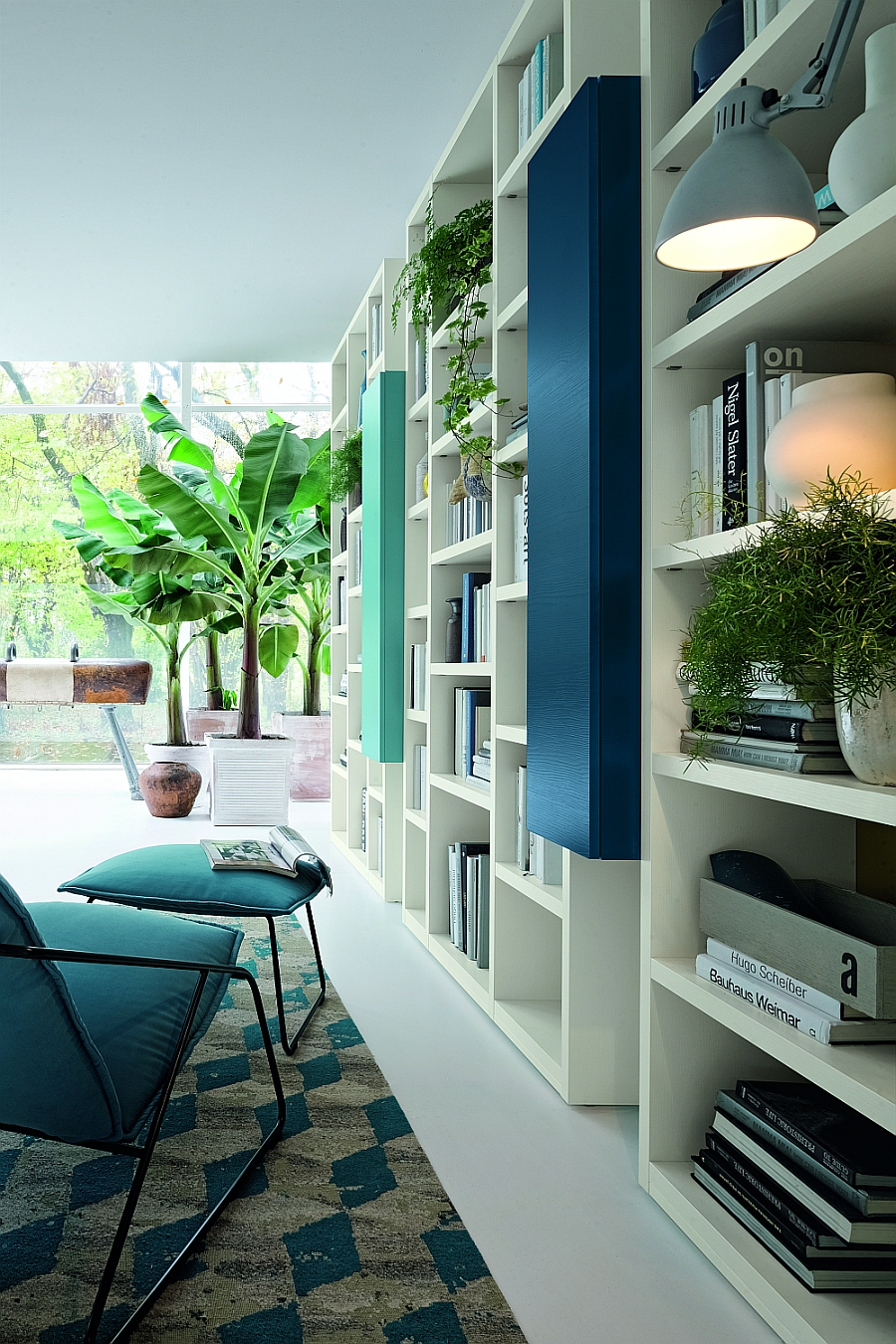 Design Wall Units For Living Room: Modern Modular Wall Units For Living Room