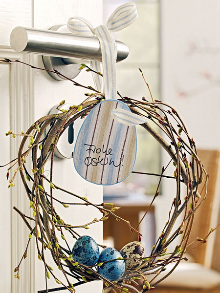 Twig Door Hanging Decoration