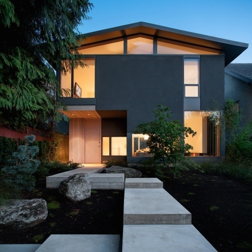 modern house exteriors
