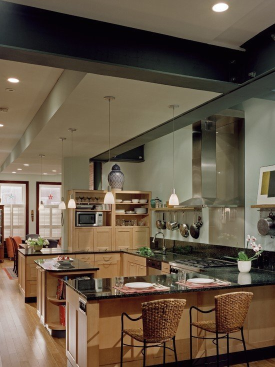 Open Kitchen Cabinet Ideas