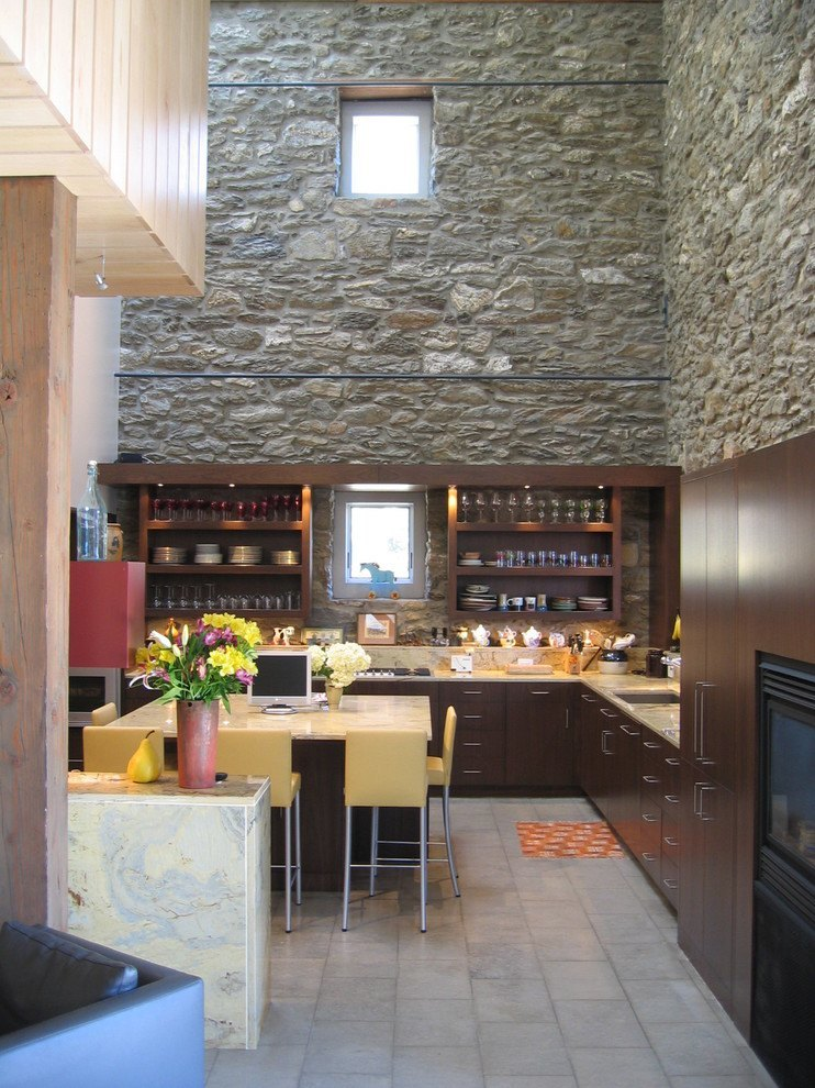 Barn's kitchen
