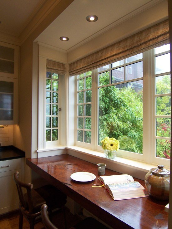 Bay window decorating ideas - Kitchen bay window decorating ideas ...