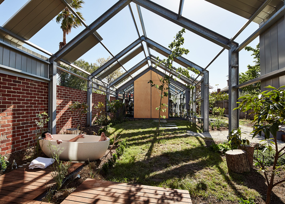 Boundaries between the indoors and outdoors