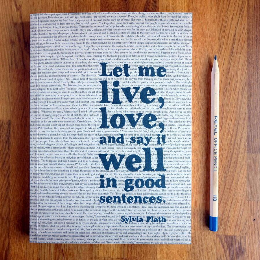 Quote laden diary