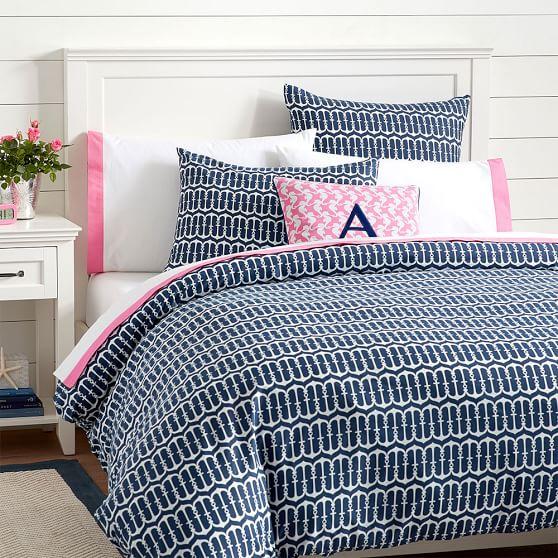 Anchor pattern bedding