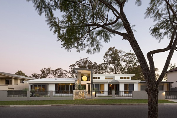 Golf house exterior